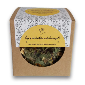 Čaj s meduňkou a dobromyslí